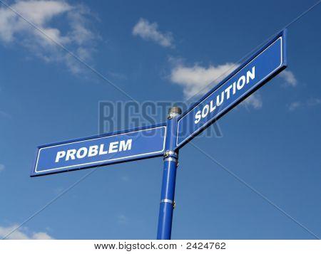 Problema y solución poste indicador