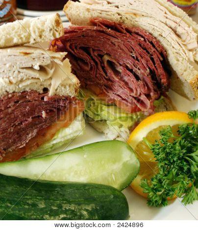 Corned Beed auf roemerzeit sandwich