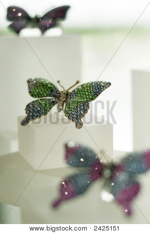 Butterfly Broaches