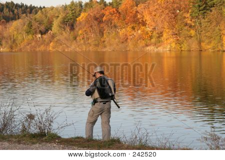 Fall Fisherman
