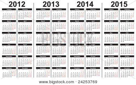 скачать шаблоны календаря 2015