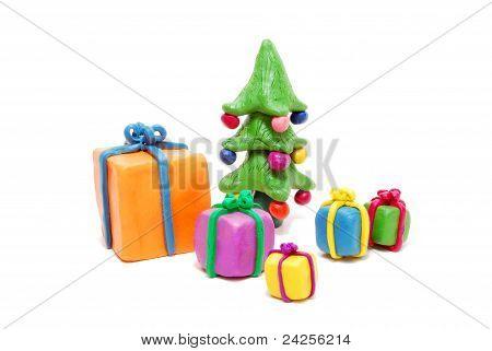 Gifts And Christmas Tree