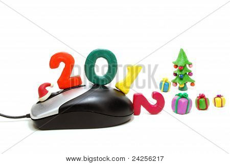 Computer Mouse 2012 With Gifts