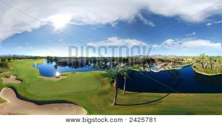 Golf Club Panorama