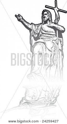 st peter statue - prague - europe