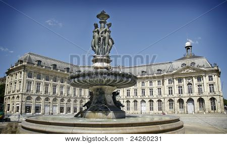 """Hotel de Ville"" (Town Hall) of bordeaux, France"
