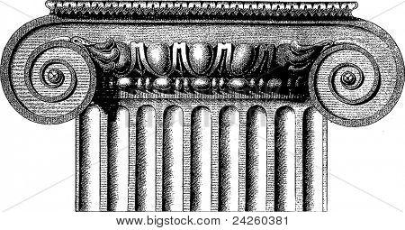 Vector Ionic column
