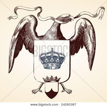 Spread Wing Eagle Insignia