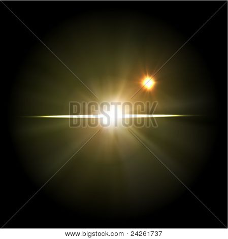 illustration of supernova star, abstract background