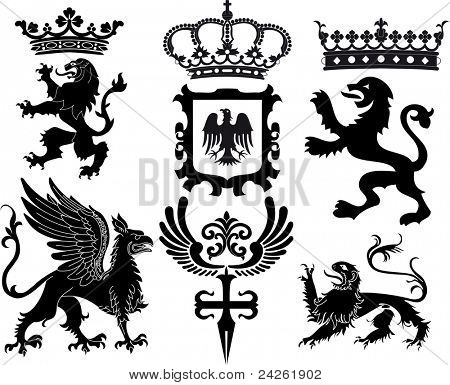 heraldische Satz