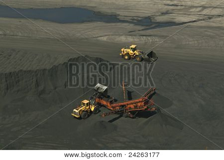 Coal mine machines