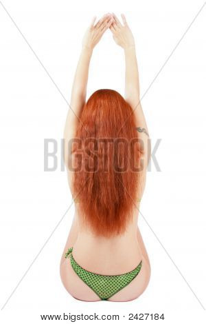 Back Of Redhead
