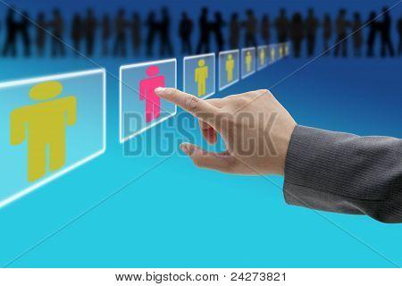 Personal de contratación electrónica