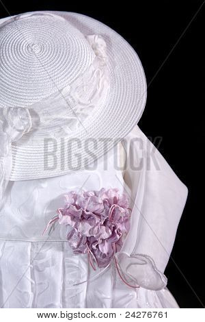 Baby Dress With Hat