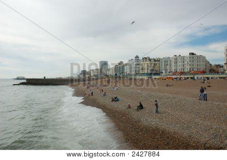 Seaside In Brighton, England