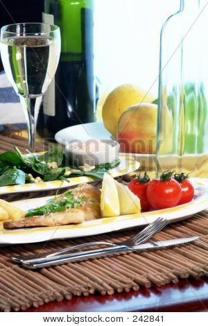 Sea Bream Dinner 6