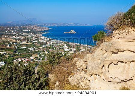 Kamari Bay On Kos Island