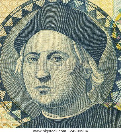 BAHAMAS - CIRCA 1992: Christopher Columbus