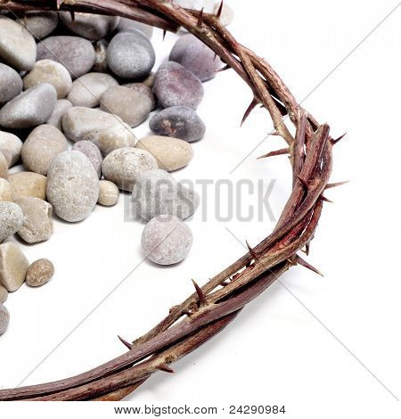 the crown of thorns of Jesus Christ