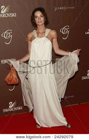 LOS ANGELES - FEB 19: Gabrielle Anwar at the 10th Annual Costume Designers Guild Awards held at the Beverly Wilshire Hotel on February 19, 2008 in Beverly Hills, California.