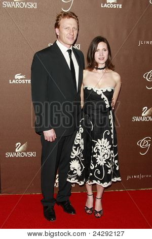 LOS ANGELES - FEB 19: Kevin McKidd and wife Jane at the 10th Annual Costume Designers Guild Awards held at the Beverly Wilshire Hotel on February 19, 2008 in Beverly Hills, California.