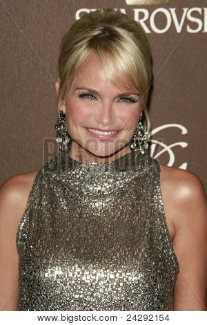 LOS ANGELES - FEB 19: Kristin Chenoweth at the 10th Annual Costume Designers Guild Awards held at the Beverly Wilshire Hotel on February 19, 2008 in Beverly Hills, California.