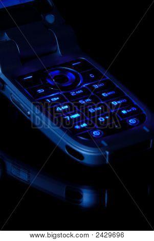 Closeup de celular