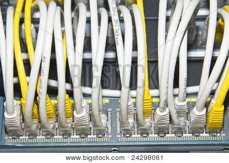 network cables and telecommunication equipment