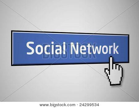 Social network button