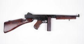 stock photo of tommy-gun  - WW11 production  - JPG