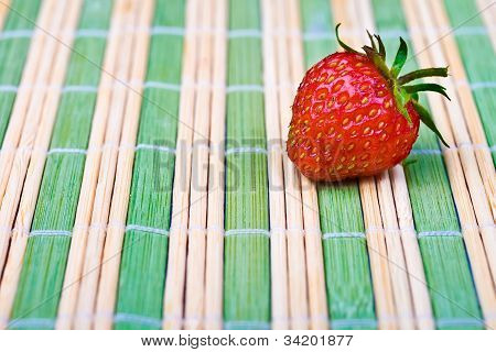 Juicy Ripe Strawberry