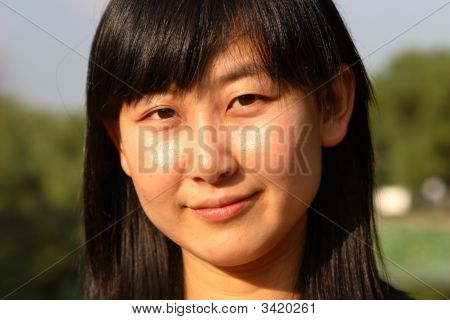 Portrait Of Asian Beauty
