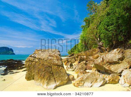 Lagoon Landscape Sunshine Scene