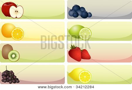 Fruit Banners