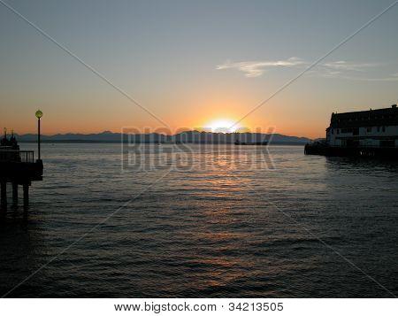 Puget Sound Sunset - WA