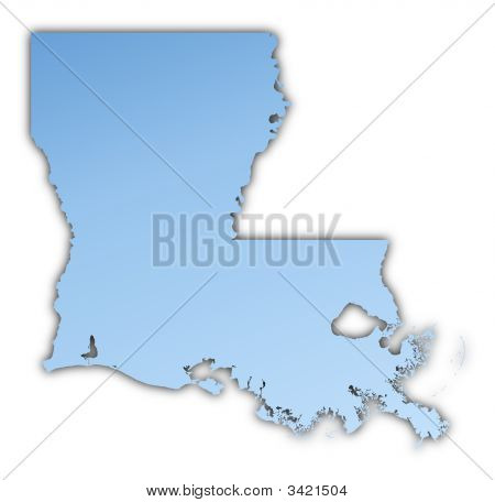 Louisiana(Usa) Map