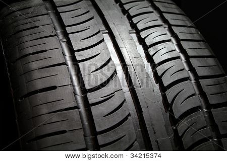 Tire tread.