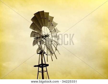 Old Wind Propeller