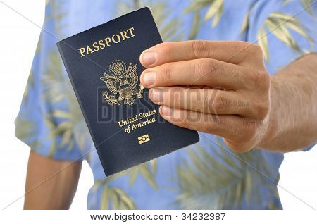 Traveler With Passport
