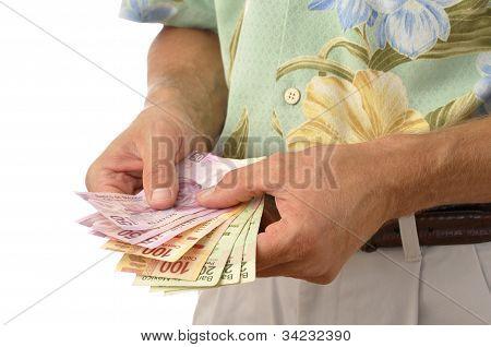 Tourist With Pesos