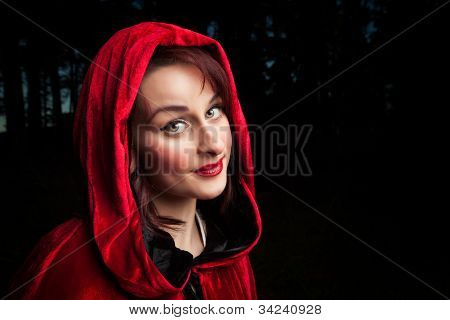 Red Riding Hood retrato