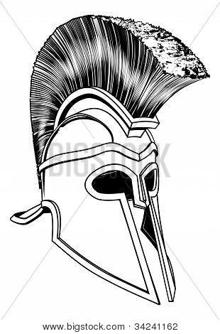 Monochrome Corinthian Helmet
