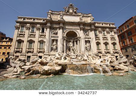 Fontana di Trevi Rome Italy