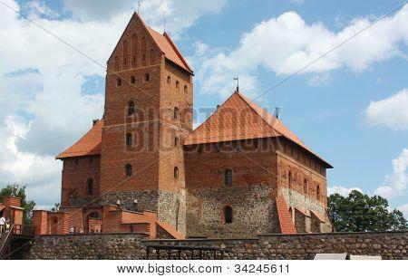 Trakai Island Castle,lithuania