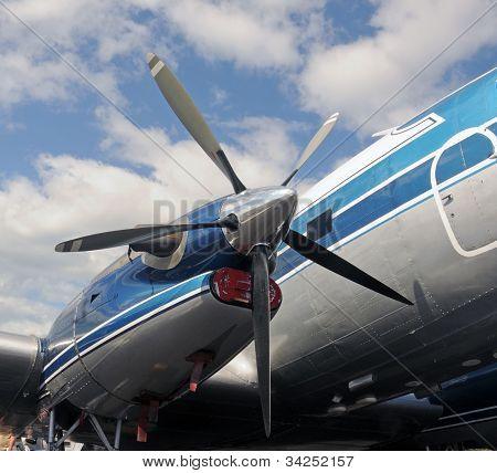 Old Airplane Porpeller