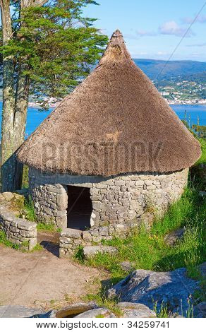 Celtic shack #1