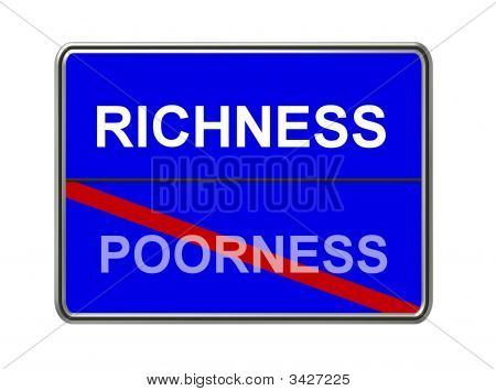 Richness Poorness