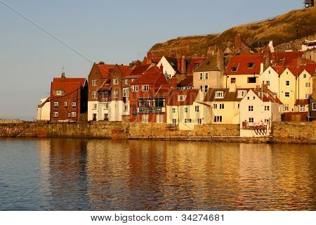 Houses at Whitby.
