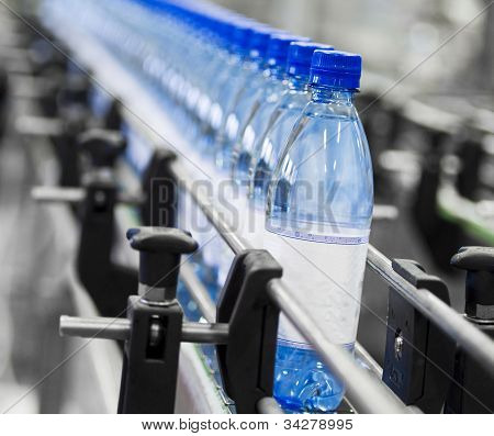 Indústria de garrafa