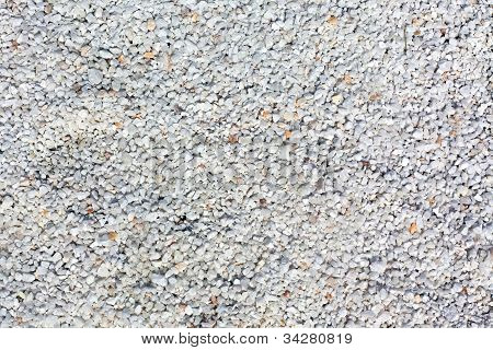 White Gravel Background